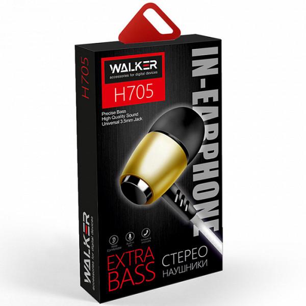 Гарнитура WALKER H705, золотистый