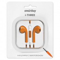 SBH-104 Гарнитура с ПДУ I-three, оранжевые