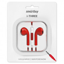 SBH-104 Гарнитура с ПДУ I-three, красные