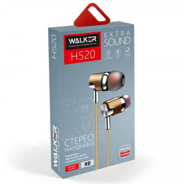 Гарнитура WALKER H520, чёрный