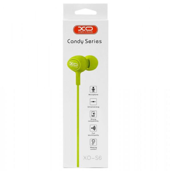 Гарнитура XO S6, зелёная
