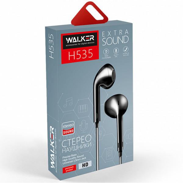 Гарнитура WALKER H535, чёрный