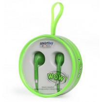 SBH-830 Универсальная мобильная гарнитура SmartBuy WOW, зелёная