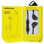 Bluetooth гарнитура (стерео)  шейный шнурок, SONGQU SQ-BT610, розовый