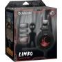 Гарнитура полноразмерная игровая Defender Limbo, объемный звук 7.1, кабель 2,2 м, чёрный