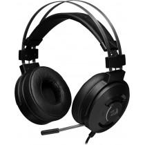 Гарнитура полноразмерная игровая Redragon Triton, объемный звук 7.1, ANC, кабель 2 м, чёрный