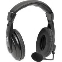 Гарнитура полноразмерная Defender Gryphon 750, кабель 2м, чёрная