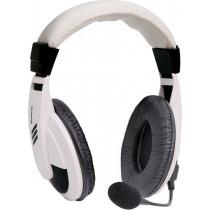 Гарнитура полноразмерная Defender Gryphon 750, кабель 2 м, белый