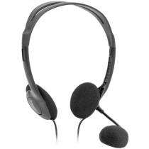 Гарнитура накладная Defender Aura HN-102, кабель1,8м, чёрная