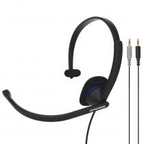 Гарнитура накладная KOSS CS-195, (один наушник), микрофон, кабель 2.4 м, чёрная
