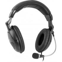 Гарнитура полноразмерная Defender Orpheus HN-898, кабель 3м, чёрная