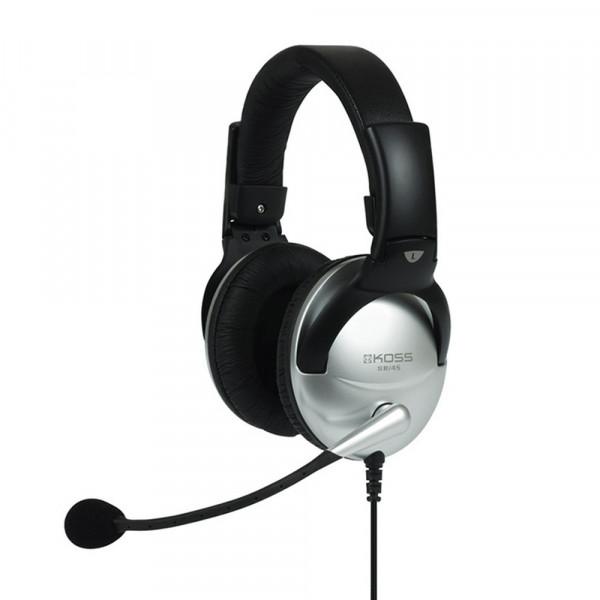 Гарнитура полноразмерная KOSS SB45, микрофон, кабель 2.4 м