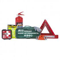 Набор автомобилиста AVS Emergency AN-02G (7 предм.), зелёная сумка