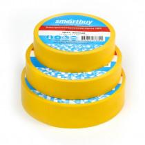 Изолента Smartbuy 0,13 х15 мм, 10м, жёлтая