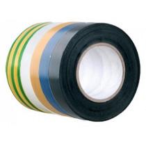 Изолента Volsten 0,13 х 15 мм, 10м (V02-7B-13x15-10), чёрная