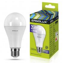 Лампа светодиодная A70 E27 35W 6500K ЛОН Ergolux