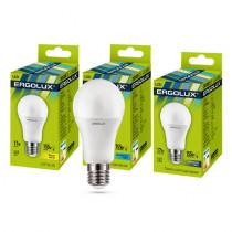 Лампа светодиодная A60 E27 17W 6500K ЛОН Ergolux