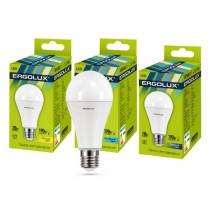 Лампа светодиодная A65 E27 20W 6500K ЛОН Ergolux