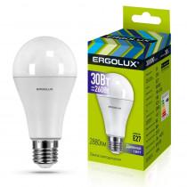Лампа светодиодная A70 E27 30W 6500K ЛОН Ergolux