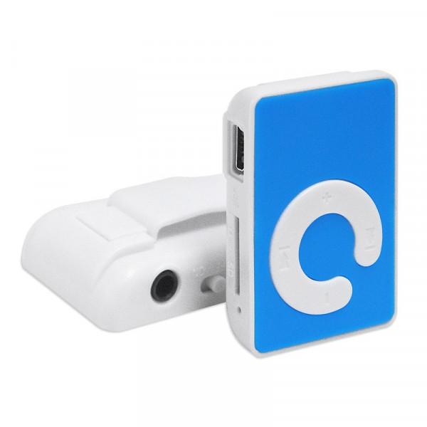 MP3-плеер RK-303, пластиковый, TF, голубой