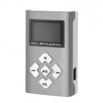 MP3-плеер N-8017 с Дисплеем серебристый