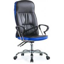 Кресло офисное Smartbuy SB-A500 (черное с синим)