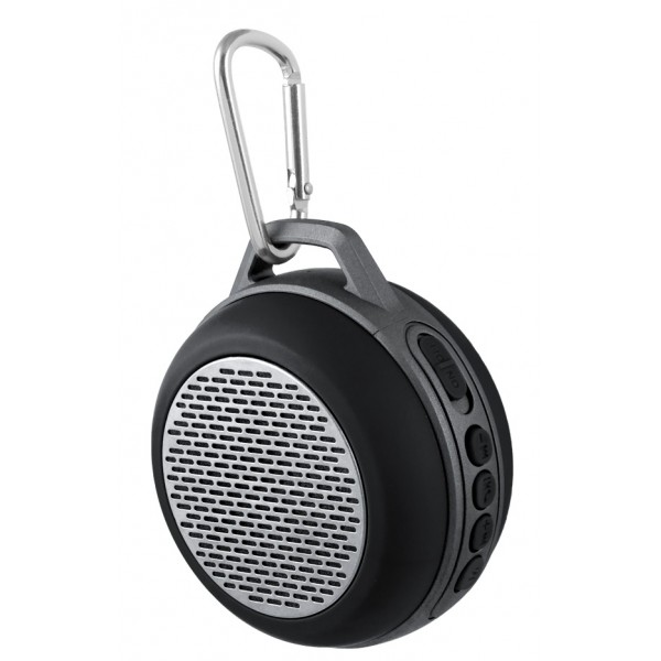 "PF-5204 Perfeo беспровод. колонка ""SOLO"" Bluetooth, FM, Micro SD, AUX, 600 мАч, 5Вт, чёрная"