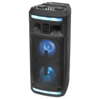 Акустическая колонка AO-12 Dialog Oscar 1.0 30W RMS, Karaoke, Bluetooth, FM+USB+SD, LED подсветка
