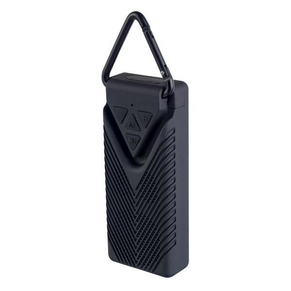 "PF_A4325 Perfeo беспровод. колонка ""BISCUIT"" Bluetooth, MP3, Micro SD, 400 мАч, 3Вт, чёрная"
