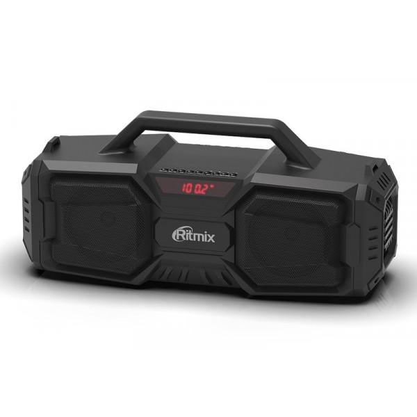 SP-650B Портативная Bluetooth-колонка Ritmix, TF, USB, MP3, FM, AUX, чёрная
