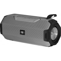 Колонка портативная Defender G20 Bluetooth, 14 Вт, USB/TF/AUX/FM, TWS, серый