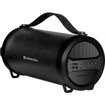 Колонка портативная Defender G24 Bluetooth, 10 Вт, USB/FM/AUX, чёрный
