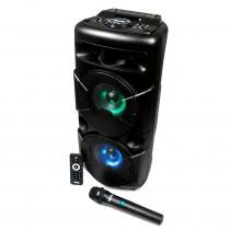 Акустическая колонка AO-20 Dialog Oscar 1.0 30W RMS, Bluetooth, FM+USB+SD, LED подсветка