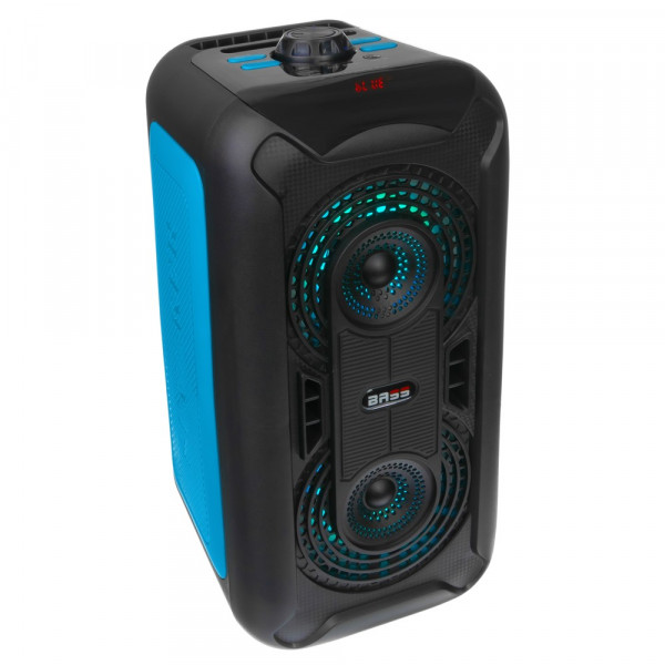"""Колонка Bluetooth DH120 6"""" (TF/USB/AUX/FM), синий"""