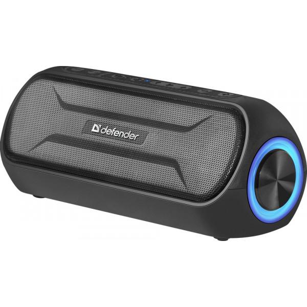 Колонка портативная Defender Enjoy S1000 Bluetooth, 20 Вт, FM/TF/USB/AUX, чёрный