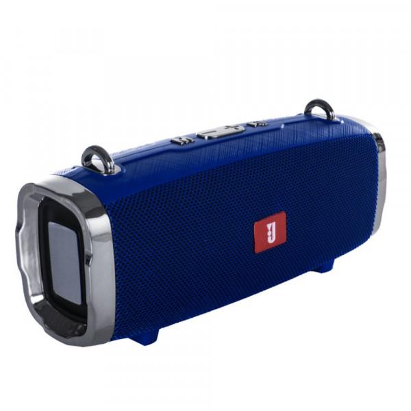Колонка Bluetooth KMS-E91 (USB/TF/AUX/FM), синий