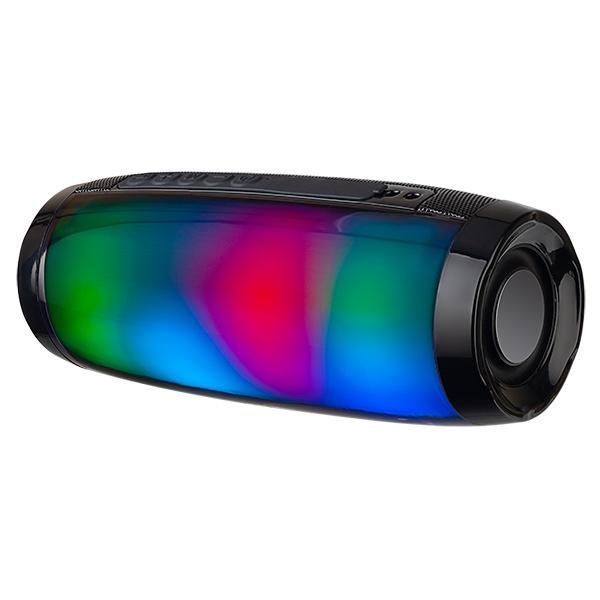 "PF_B4702 Perfeo беспровод. колонка ""FLARE"" Bluetooth, USB, TF, AUX, FM, мощность 10Вт, чёрная"