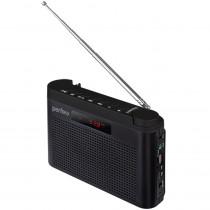 I70BK Perfeo мини-аудио Тайга, УКВ+FM, MP3, USB, TF, AUX, 1800 mAh, чёрный