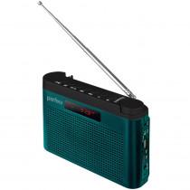 I70BL Perfeo мини-аудио Тайга, УКВ+FM, MP3, USB, TF, AUX, 1800 mAh, морской синий