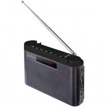 I70GR Perfeo мини-аудио Тайга, УКВ+FM, MP3, USB, TF, AUX, 1800 mAh, серый
