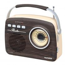Радиоприёмник Telefunken TF-1692UB, (USB/TF/AUX/AM/FM/) тёмное дерево