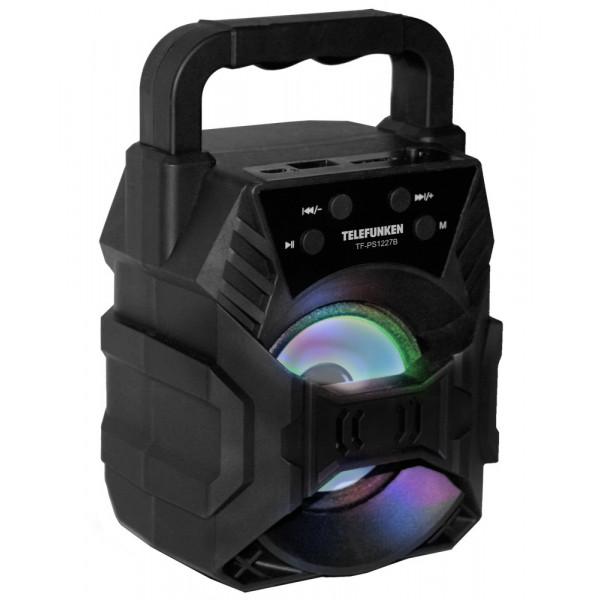 Колонка портативная Telefunken TF-PS1227B, чёрный