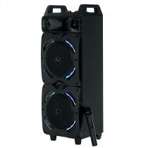 """Акустическая колонка AO-220 Dialog Oscar 2x8"""" 100W RMS, Karaoke, Bluetooth, FM+USB+SD, микрофон, LED подсветка"""