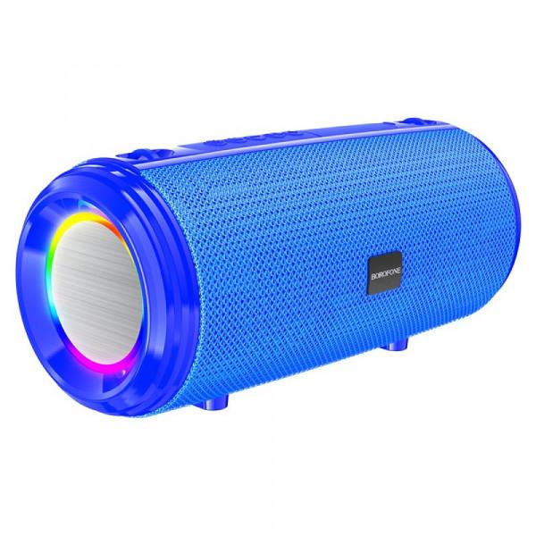 Колонка Bluetooth Borofone BR13 (microSD USB AUX FM), синий
