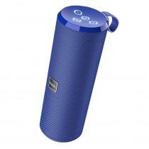 Колонка Bluetooth Hoco BS33 Voice (USB/TF/AUX/FM), синий