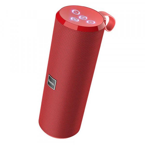 Колонка Bluetooth Hoco BS33 Voice (USB/TF/AUX/FM), красный