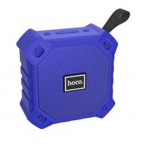 Колонка Bluetooth Hoco BS34 (USB/TF/AUX/FM), синий