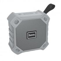 Колонка Bluetooth Hoco BS34 (USB/TF/AUX/FM), серый