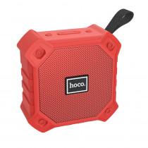 Колонка Bluetooth Hoco BS34 (USB/TF/AUX/FM), красный