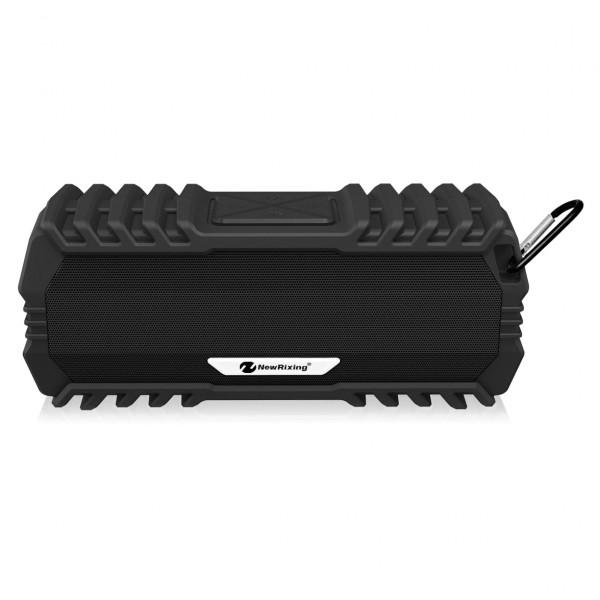 Колонка Bluetooth New Rixing NR-5015, USB, TF, AUX, FM, чёрный